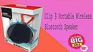 Xcluciveoffer Clip 3 Portable Wireless Bluetooth Speaker with Mic