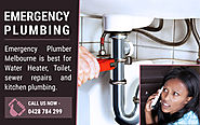 Emergency Plumbing Melbourne, fast licensed plumbers 24 hours
