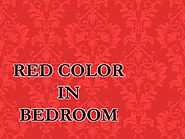 Red color in Bedroom by josesottile224 - Issuu