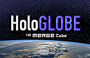HoloGLOBE for Merge Cube | MERGE Miniverse | Institute for Earth Observations at Palmyra Cove