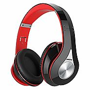 Mpow 059 Bluetooth Headphones Over Ear, Hi-Fi Stereo Wireless Headset, Foldable, Soft Memory-Protein Earmuffs, w/Buil...
