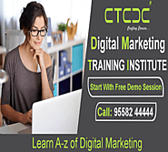 Website at https://www.ctcdc.in/course/Digital-Marketing-Training