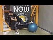 Lunges With Stability Ball