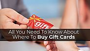 All You Need To Know About Where to Buy Gift Cards - Coupon Codes Deals