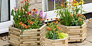 32 outdoor plant pots for your garden or patio area
