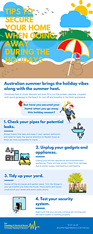 Tips to Secure Your Home When Going Away during the Holidays