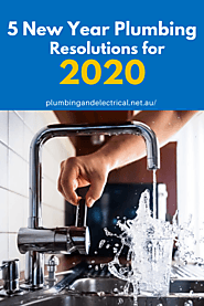 5 New Year Plumbing Resolutions for 2020