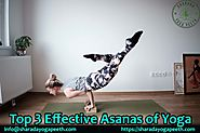 Top 3 Effective Asanas of Yoga - Sharada Yoga - Medium
