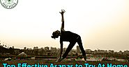 Top Effective Asanas to Try At Home