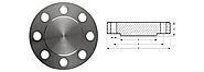 Stainless Steel Carbon Steel Blind Flanges Manufacturer Suppliers Dealer Exporter in India