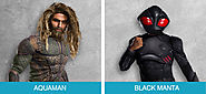 Aquaman and Black Manta
