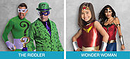 The Riddler and Wonder Woman