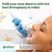 Rhinoplasty in India is affordable Rhinoplasty cost in India