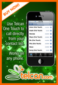 Telcan offer best and cheapest ipad/iphone VoIP call from India or to India using iPad,iPhone, iPod touch, iOS device.