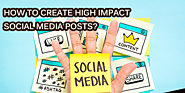 Ways and means of writing good social media posts