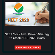 NEET Mock Test- Proven Strategy to Crack NEET 2020 exam