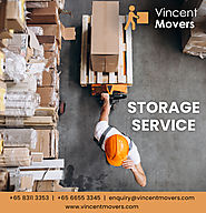 Professional Moving Services by Vincent Movers in Singapore