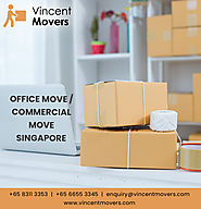 Vincent Movers House, Office, Piano and International Movers Singapore