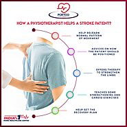 How a physiotherapist helps a strock patient?