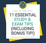 11 Essential Study & Exam Tips for Every Student (Including Bonus Tip)