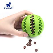 Interactive Elasticity Ball Dog Chew Toy For Dog Tooth Clean - Royaletag.com