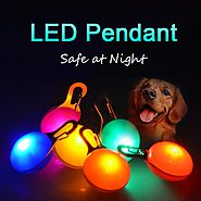 Anti-Lost Led Lights Glowing ID Tag For Dogs