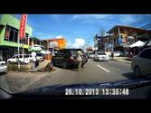 Driving in Trinidad 26 Oct 2013