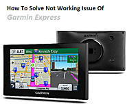 How To Solve Not Working Issue Of Garmin Express
