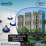 Affordable Property, flats in Lucknow for sale: Excella Group