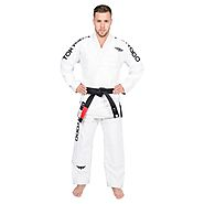 Tokyodo Brazilian Jiu-Jitsu BJJ 100% Cotton Pearl Weave Pre-Shrunk Rib Stop Pants, Jacket & Pant, Adult Medium Weight...