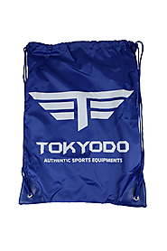 Tokyodo Martial Art Gi Bag with Drawstring - Multi Purpose Semi Mash Backpack - $21.99