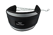 "Tokyodo Lifting Dip Belt with Heavy Duty Chain, 8"" wide for Weight Training, CrossFit, Bodybuilding, Lifetime Warrant..."