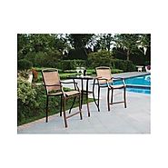 Best-Rated Bar Height Outdoor Bistro Sets - Reviews :: Patio-furniture-accessories