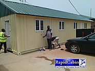 Prefabricated Cabins- Rapid Cabins and Locations