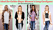 Ideal For Colder days: Women's Long Cardigans