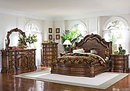 Pulaski San Mateo 5 Piece Platform Bedroom Set