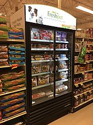 Find significant information about refrigerated dog food