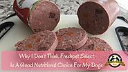 An easy way to feed your dog fresh food