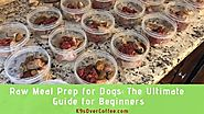 Know more about raw meal prep for dogs