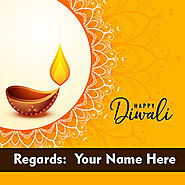 Happy Diwali 2019 Wishes Card With My Name