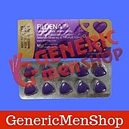 Fildena 100 - Cure the Erectile Dysfunction | GenericMenShop