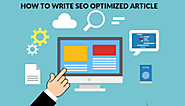 How Can I SEO Optimize Your Blog Website Visible to Search Rank