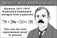 Explain artificial transmutation