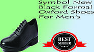 XClusiveoffer Symbol New Black Formal Oxford Shoes For Men's