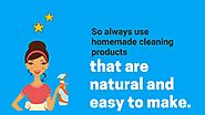 Homemade Natural Cleaning Supplies: DIY Recipes and Uses