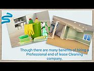 End of Lease Cleaning Company in Ashfield and the Benefits of Hiring Them