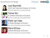 LinkedIn for Outlook - STORE