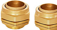 Aluminium BW cable glands Brass BW cable glands 2 parts 3 part cable glands