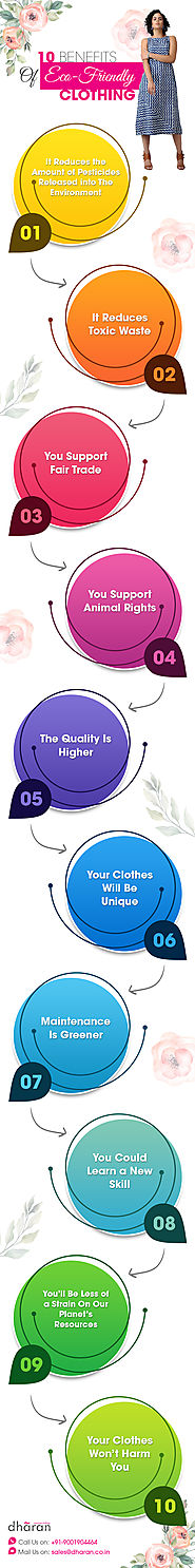 Benefits Of Eco Friendly Clothing