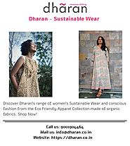 Dharan - Sustainable Wear